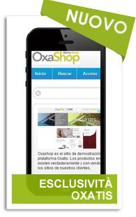 Vendi su Mobile con Oxatis