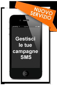Gestisci con semplicità le tue campagne SMS